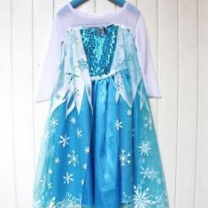 Rochita Elsa, Rochie Frozen, de petrecere, 5, 6, 7 ani