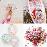 Confetti multicolore buline si romburi, 1000 g