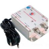 Amplificator semnal tv, spliter CATV 2 iesiri