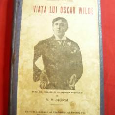 Robert de Sherard -Viata lui Oscar Wilde -trad.NM Nigrim-Ed.Al.Stanciulescu 1915