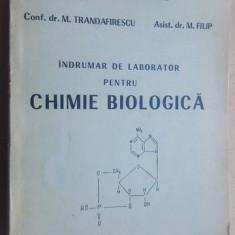 Indrumar de laborator pentru chimie biologica- M. Trandafirescu, M.Filip