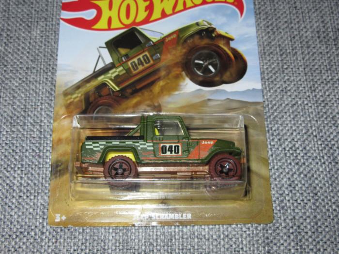Hot wheels Jeep Scrambler 1:64
