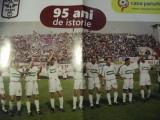 Rapid Bucuresti poster (95 de ani de istorie)