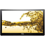 Monitor LED AOC e1659fwu 15.6 inch 8ms Black