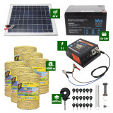 Pachet Gard electric 5J putere plus 6000m de fir si Panou Solar