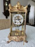 Pendula, ceas de semineu, made U.S.A, an 1900, cu garantie, returnabil