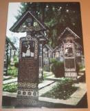 "Carte Postala - Romania - Sapinta - Cimitirul Vesel ""CP99"""