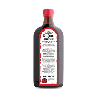 Bitter, Picaturi Suedeze, 500 ml, Parapharm foto