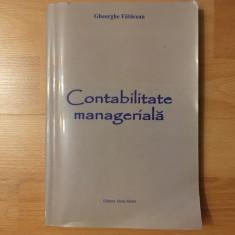 Contabilitate managerială/Gheorghe Fatacean/2005