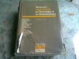 DICTIONNAIRE ANGLAIS FRANCAIS DE L'ELECTRONIQUE ET DE L'ELECTROTECHNIQUE - PIERRE RENYI (CARTE IN LIMBA FRANCEZA)