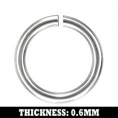 Inel pentru lanț realizat din oțel inoxidabil, 3 mm