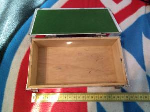Cutie veche pentru bijuterii