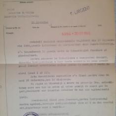 Școală horticultură Nucet-Dâmbovița, doc schimbare denumire, 1945, Min Agricult