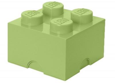 Cutie depozitare LEGO 2X2 Verde galbui 40031748 foto