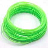 Pla filament pentru 3d-stift & 3d-drucker, 10m lang, 1,75mm querschnitt, leuchtgrün, ,