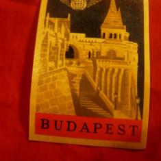 2 Etichete vechi - Reclama Hotel Continental Budapesta si Firma IRBUS Budapesta