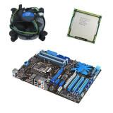 Kit placa de baza second hand Asus P7P55D LE, Intel i5-750, Cooler