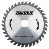 Disc pentru taiere lemn 300 mm 56 dinti vidia, interior 30 mm 163110 Raider