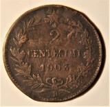 2 Centesimi - Vittorio Emanuele III - 1903 REGNO ITALIA, Europa