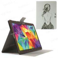 """Husa Samsung Galaxy Tab S T800 T801 T805 10.5"""" + folie + stylus"""