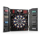 OneConcept Masterdarter dartboard Softtip Usi din imitație de lemn