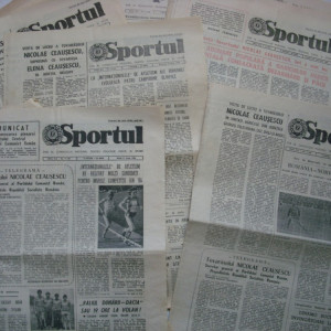 Ziarul Sportul 25 noiembrie 1986
