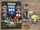 Panini FIFA 365 2017 Album gol + 230 stickere nelipite