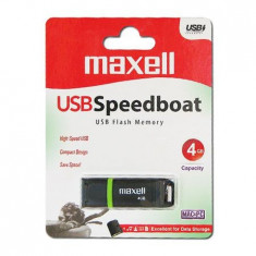 FLASH DRIVE 4GB USB 2.0 SPEEDBOAT MAXELL