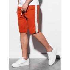 Pantaloni scurti barbati W241 - portocaliu