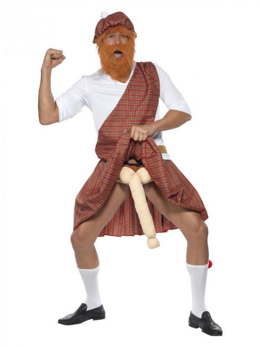 Costum de scotian superdotat pentru adulti