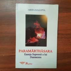Abhinavagupta Paramarthasara Esenta suprema a lui Dumnezeu