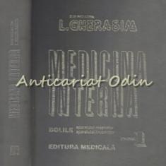 Medicina Interna. Bolile Aparatului Respirator Si Locomotor I - L. Gherasim