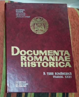 Documenta Romaniae Historica B. Tara Romaneasca  Vol. 35: 1650 foto
