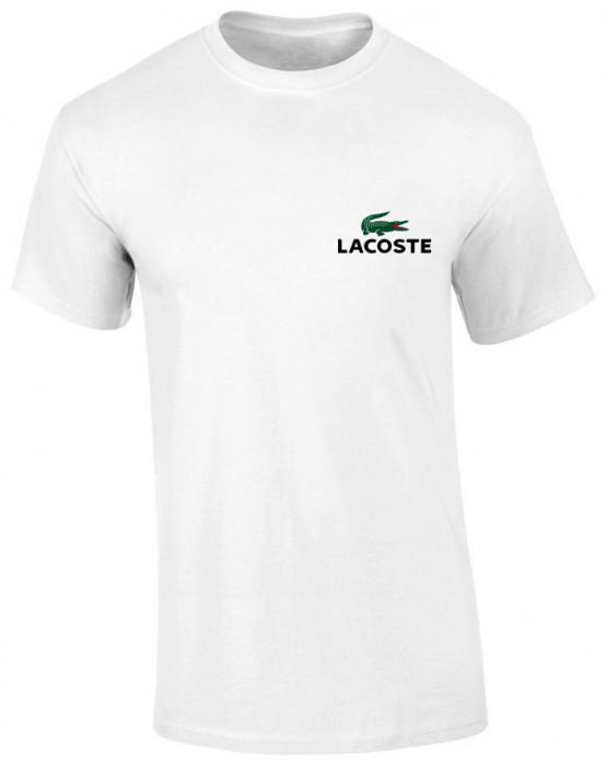 Tricou Alb Lacoste Logo COD T0523