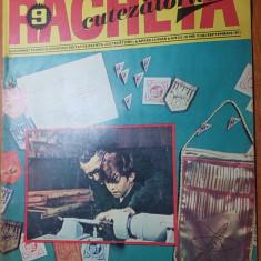 revista pentru copii - racheta cutezatorilor septembrie 1971