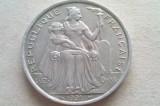 MONEDA 5 FRANCI 1991-POLINEZIA FRANCEZA