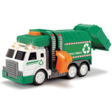 Masina de gunoi cu lumini si sunete Dickie Toys 15 cm