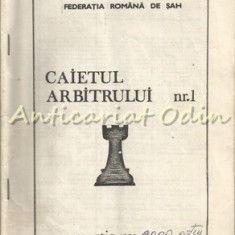 Caietul Arbitrului - Nr:. 1, Martie 1989