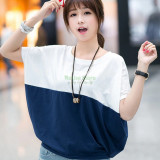 Tricou pentru femei cu maneca scurta, vintage, de vară