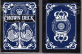 Carti de joc The Crown Deck Blue playing cards