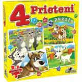 Cumpara ieftin Puzzle 4 Prieteni Mari, 134 piese, Noriel