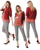 Pantaloni 3/4 in carouri Noppies