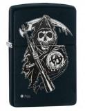 Cumpara ieftin Brichetă Zippo 28504 Sons of Anarchy Reaper