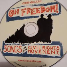 CHRIS VALLILLO - OH FREEDOM!  -   CD
