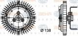 Vascocuplaj / Cupla ventilator radiator AUDI A4 (8EC, B7) (2004 - 2008) HELLA 8MV 376 732-011