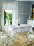Față de masă Valentini Bianco Model Pano Lace Gri