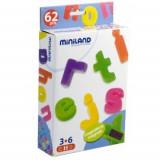 Miniland - Litere mici magnetice 62