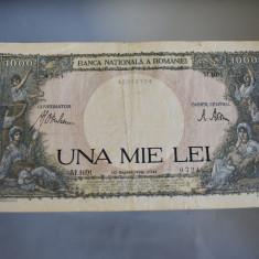 1000 lei 1941 ( 10 Septembrie ) Una Mie Lei