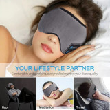 Cumpara ieftin Masca de dormit MIDY 601, cu Casti Wireless, stereo Bluetooth 5.0, Oem