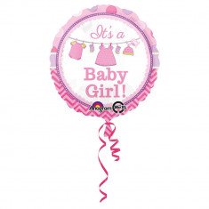 Balon folie 43cm It's a Baby Girl!